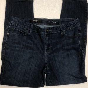 Simply Vera Vera Wang women's jeans skinny 14P